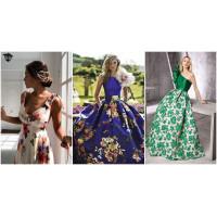 У нас здесь цветочные платья!