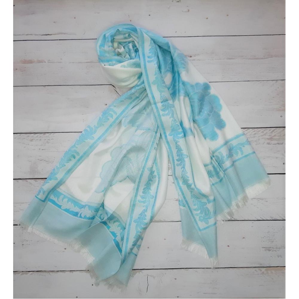 Весенний шарф из пашмина фото 1
