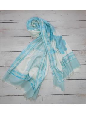 Весенний шарф из пашмина