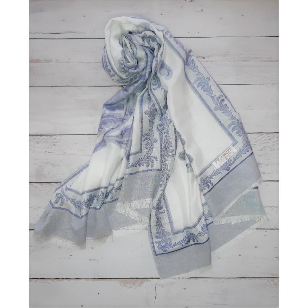 Красивый шарф из пашмина фото 1