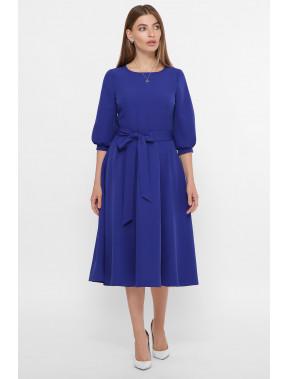Элегантное платье Рабия королевского цвета