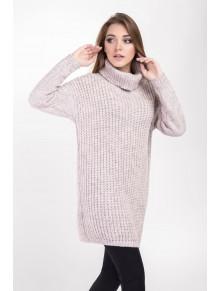 Теплый модный свитер Нино