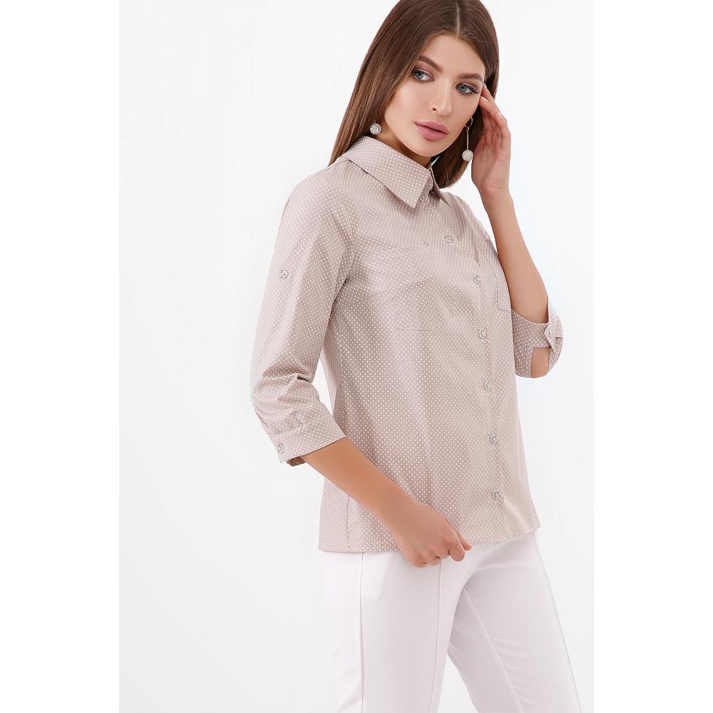 Замечательна коттоновая рубашка Ванда фото 3
