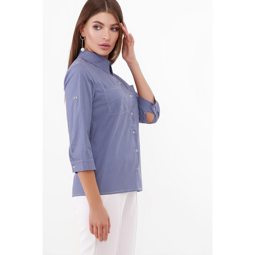 Стильная рубашка с рукавом 3/4 Ванда фото 3