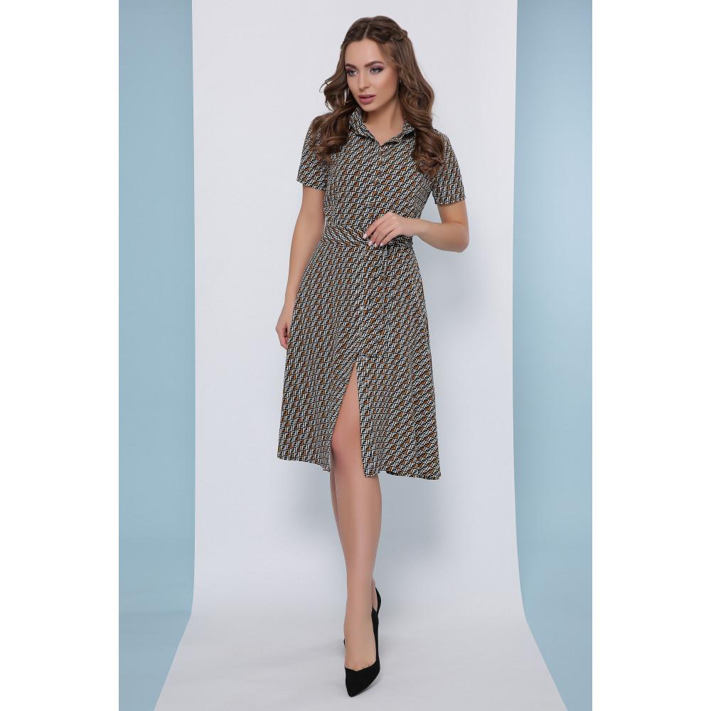 Женское платье с принтом Рамона фото 1
