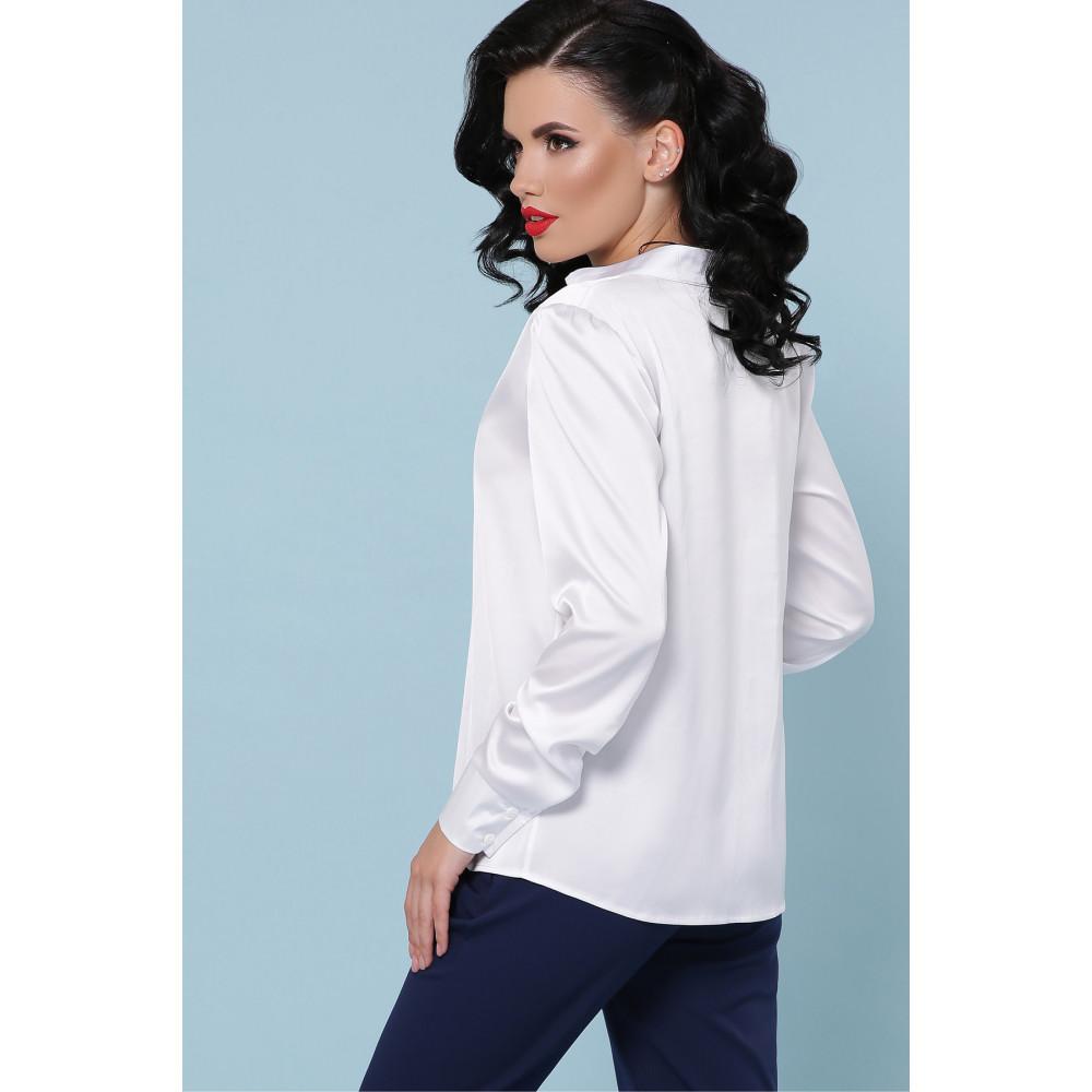 Белоснежная блуза Эльвира фото 3