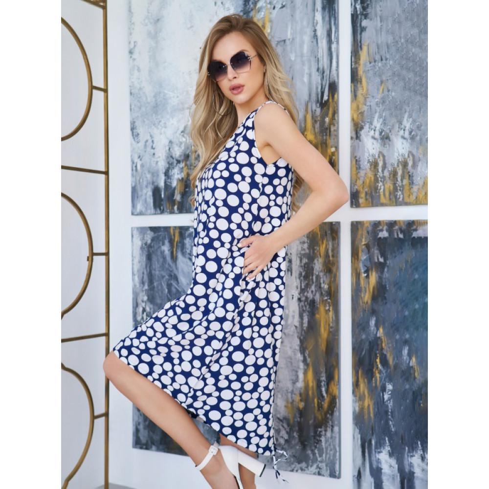 Легкое летнее платье-трапеция  фото 1