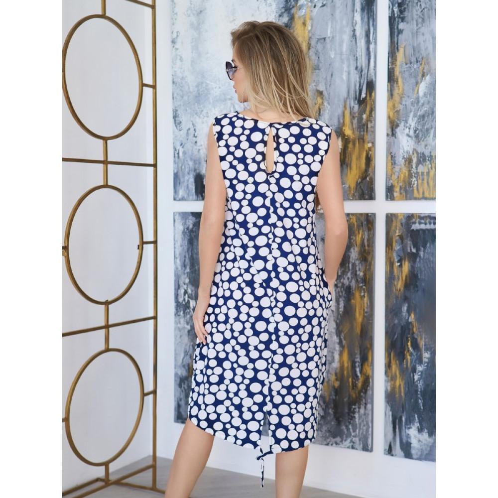 Легкое летнее платье-трапеция  фото 2