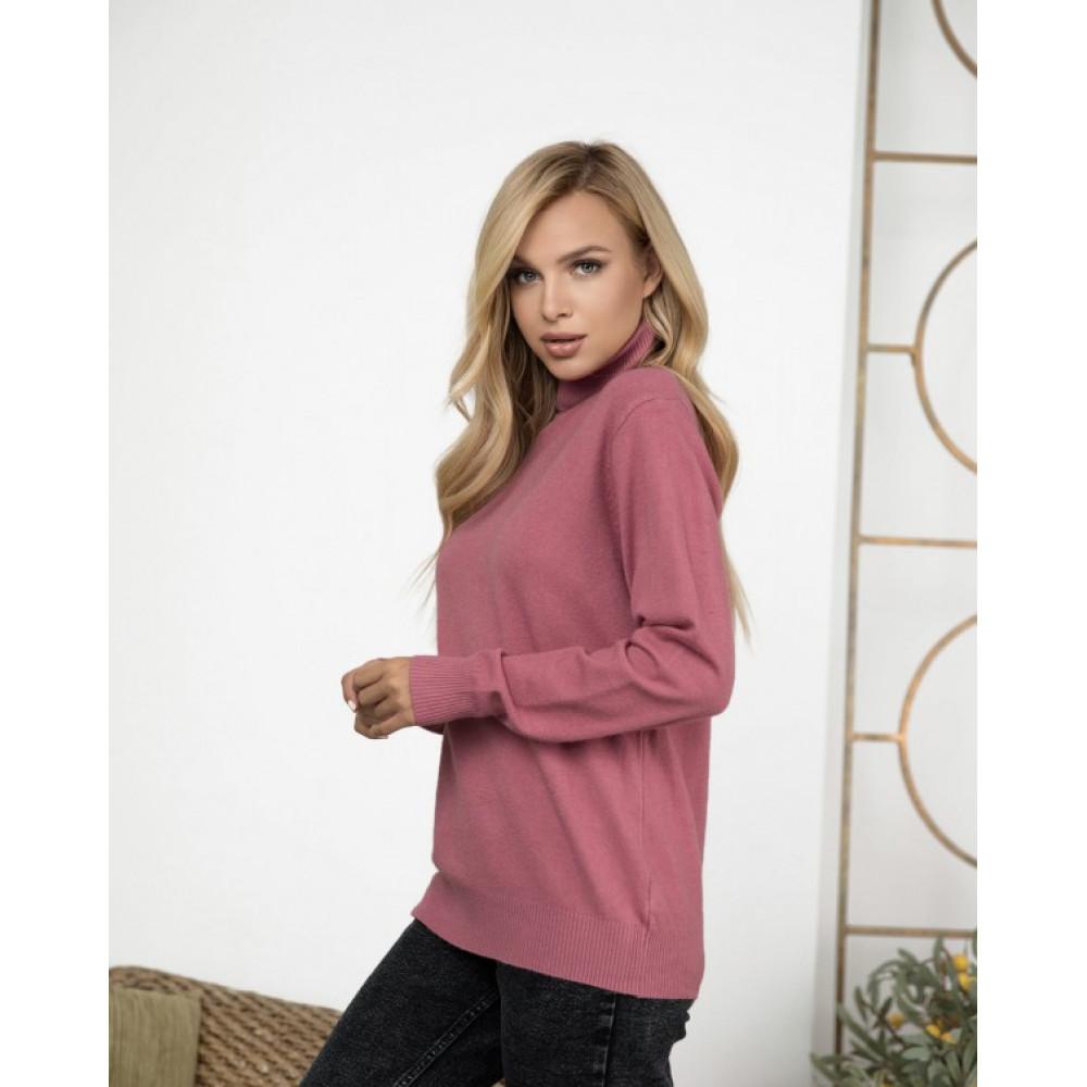 Женский розовый гольф Анитра фото 1