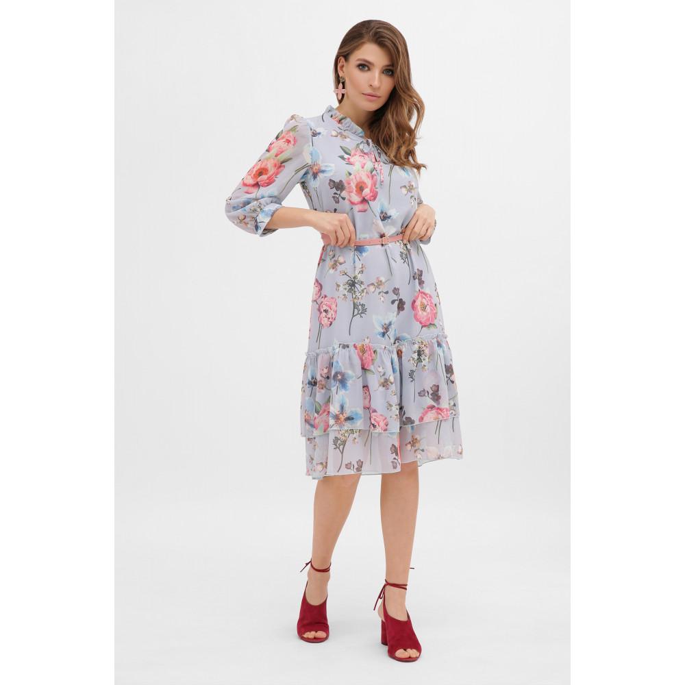 Милое платье из шифона в цветы Элисон фото 3