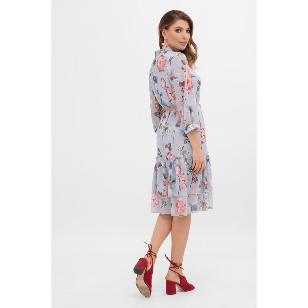 Милое платье из шифона в цветы Элисон фото 5