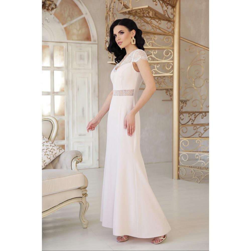Коктейльное платье с кружевом Алана фото 2