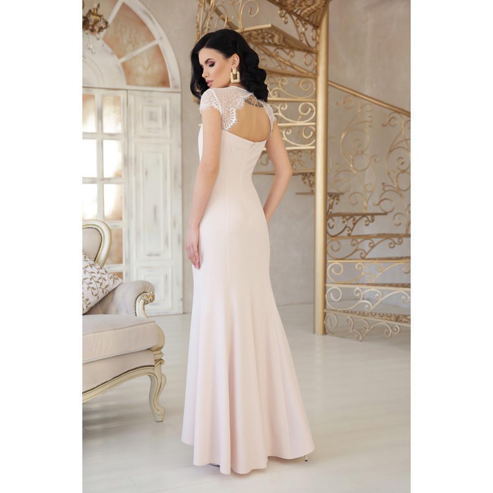 Коктейльное платье с кружевом Алана фото 3