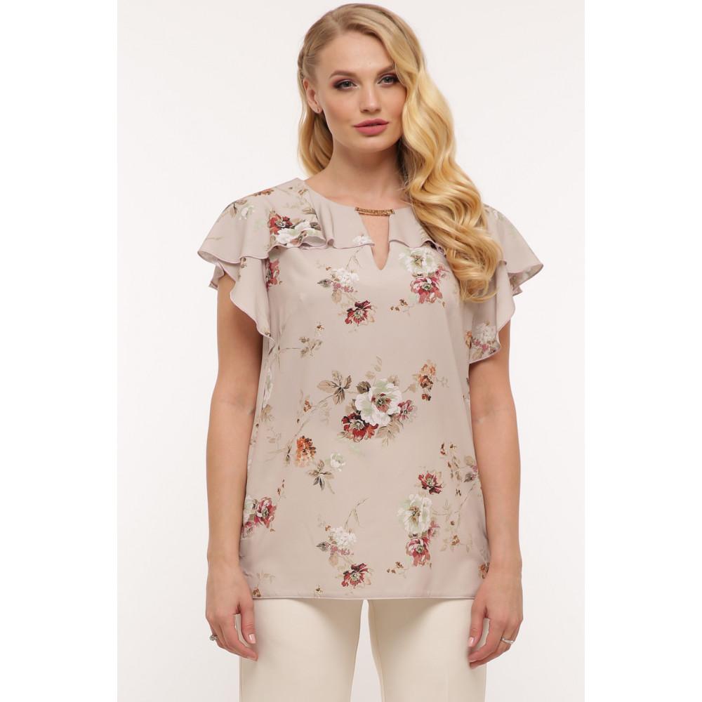 Легкая летняя блузка Альбина фото 1