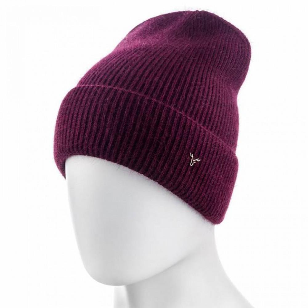 Бордовая шапка Арли фото 1