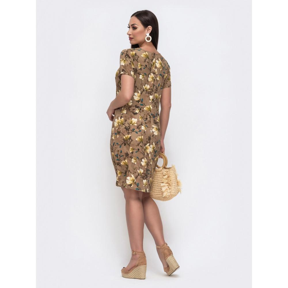Красивое платье с молнией по спинке Людмила фото 2