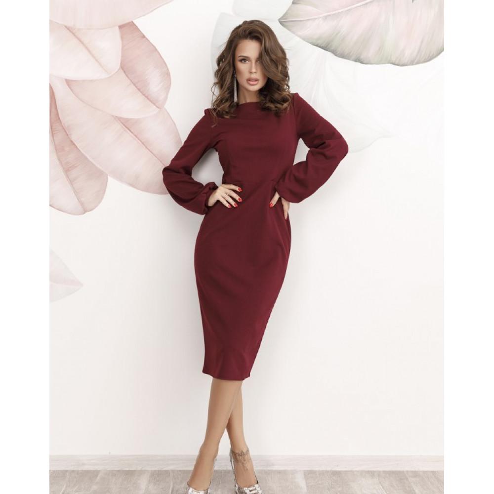 Коктейльное платье-футляр Карина фото 1
