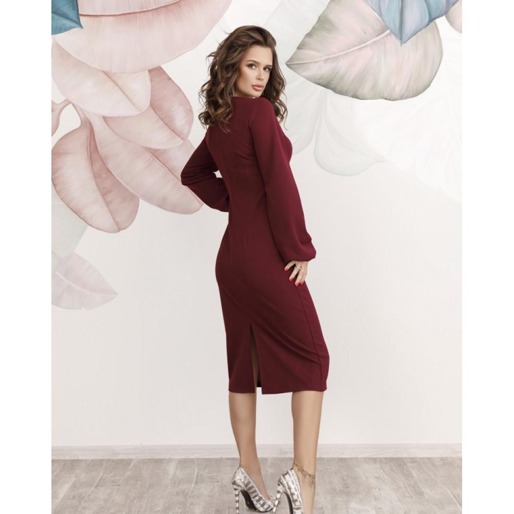 Коктейльное платье-футляр Карина фото 3