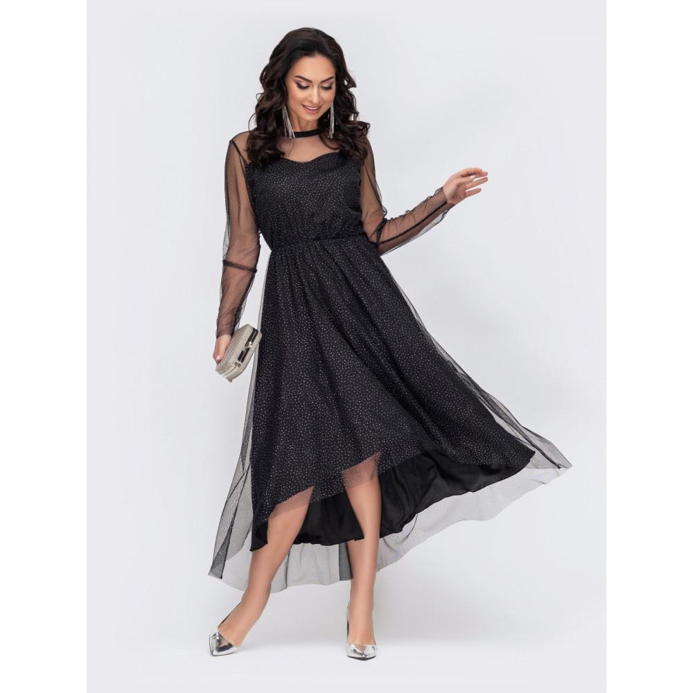 Блестящее вечернее платье Лурдес фото 1