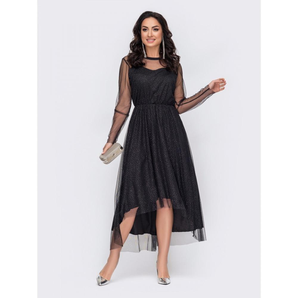 Блестящее вечернее платье Лурдес фото 2