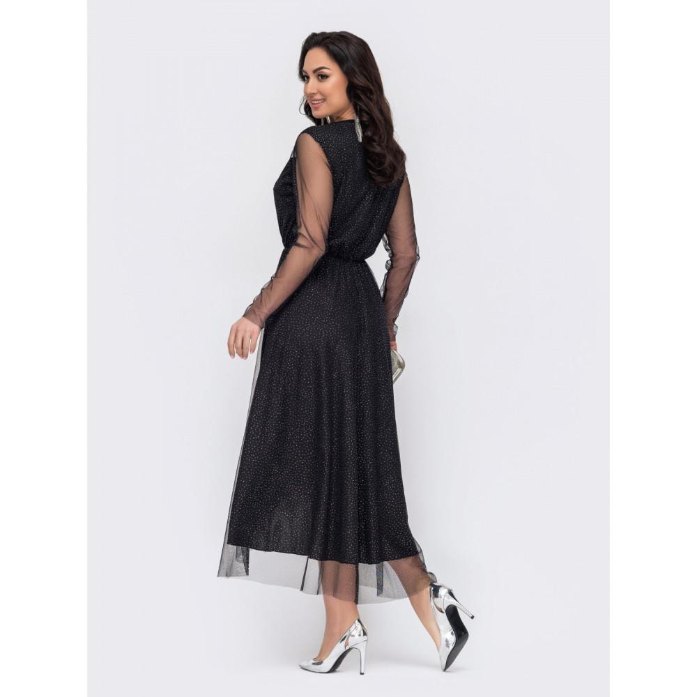 Блестящее вечернее платье Лурдес фото 3