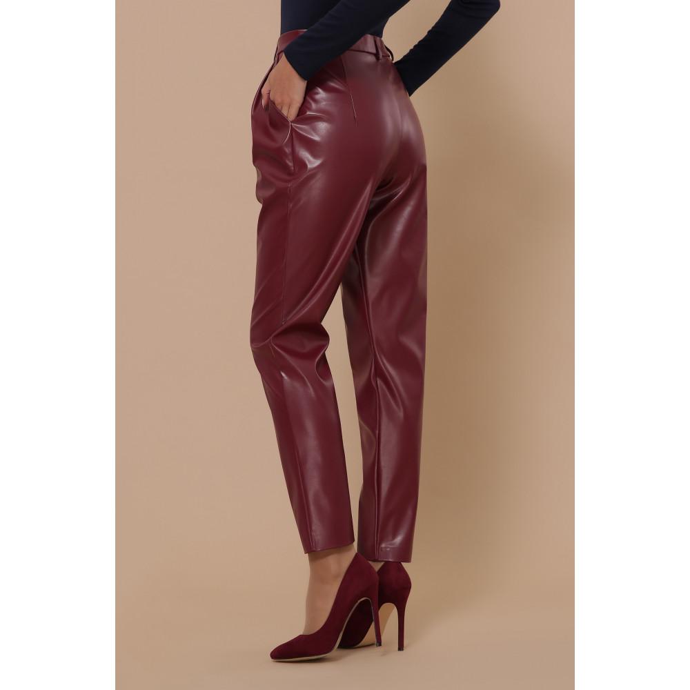 Бордовые брюки Бакси фото 1