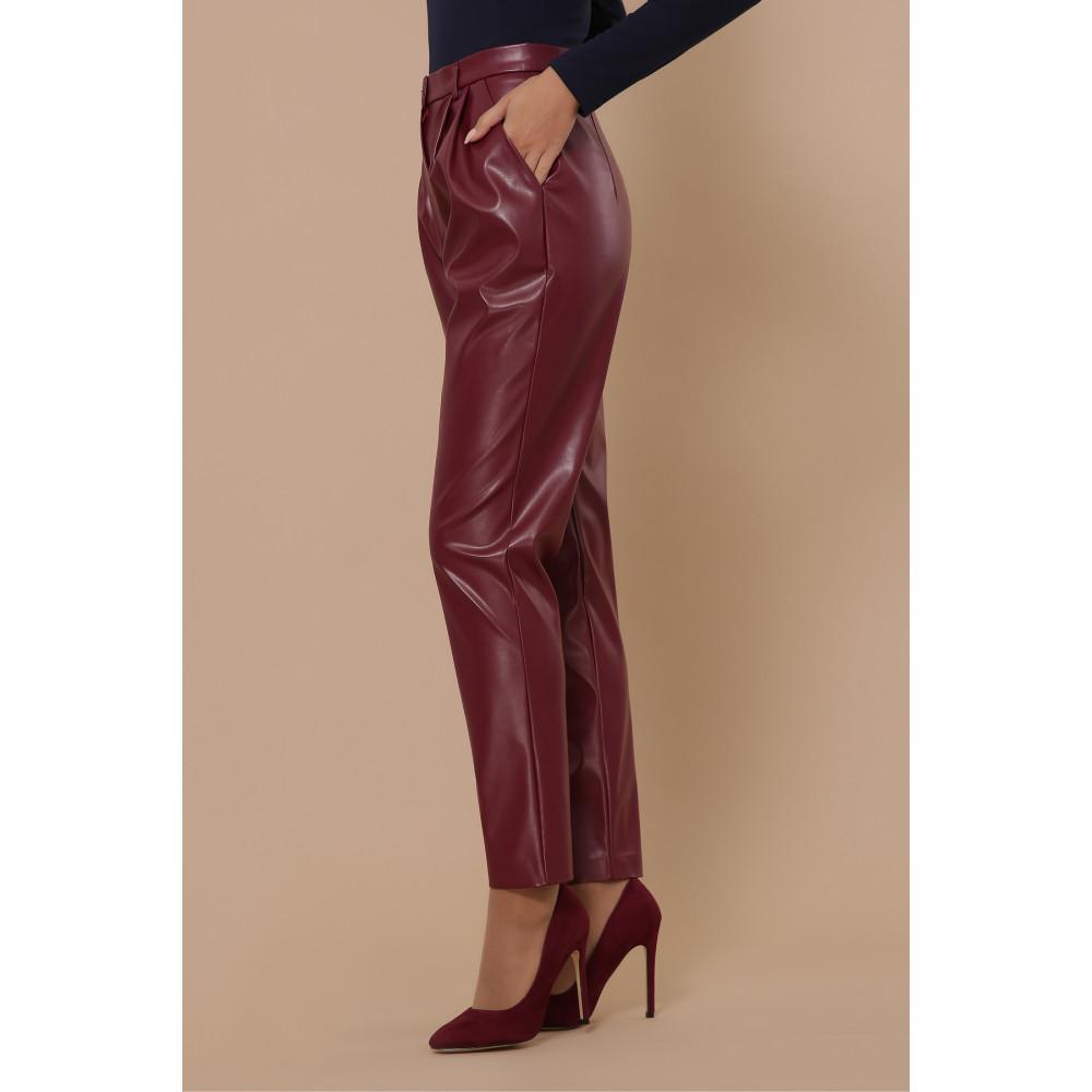 Бордовые брюки Бакси фото 3