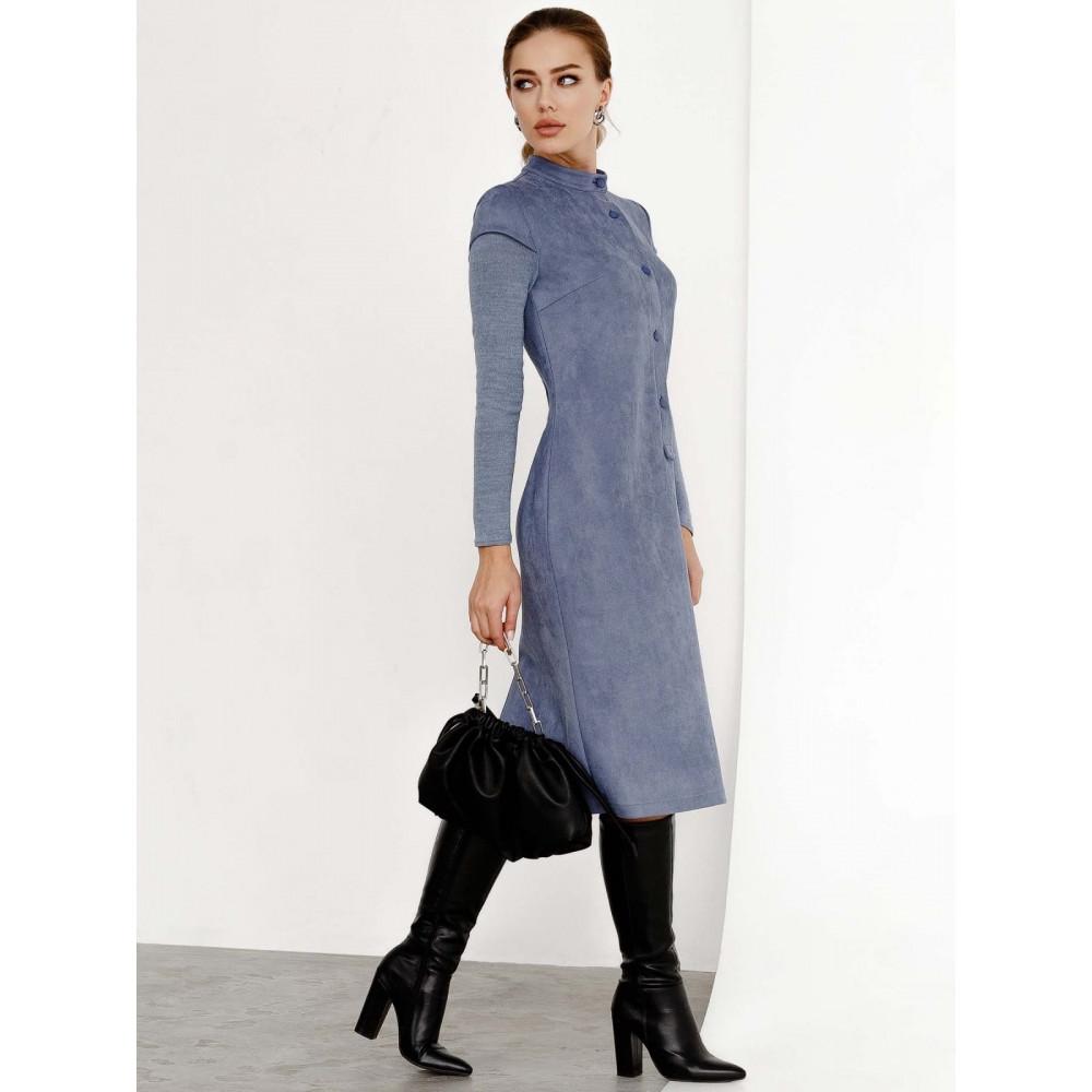 Замшевое платье-футляр Вилора фото 4