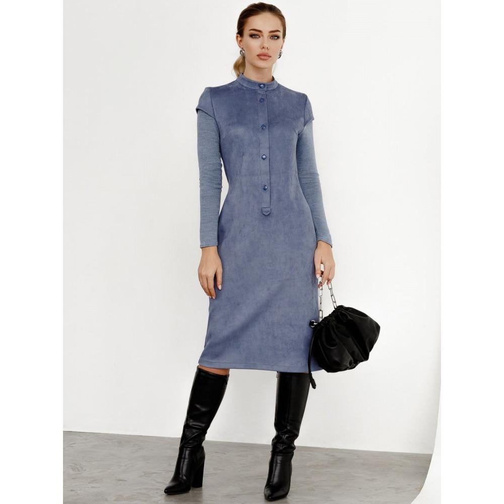 Замшевое платье-футляр Вилора фото 1