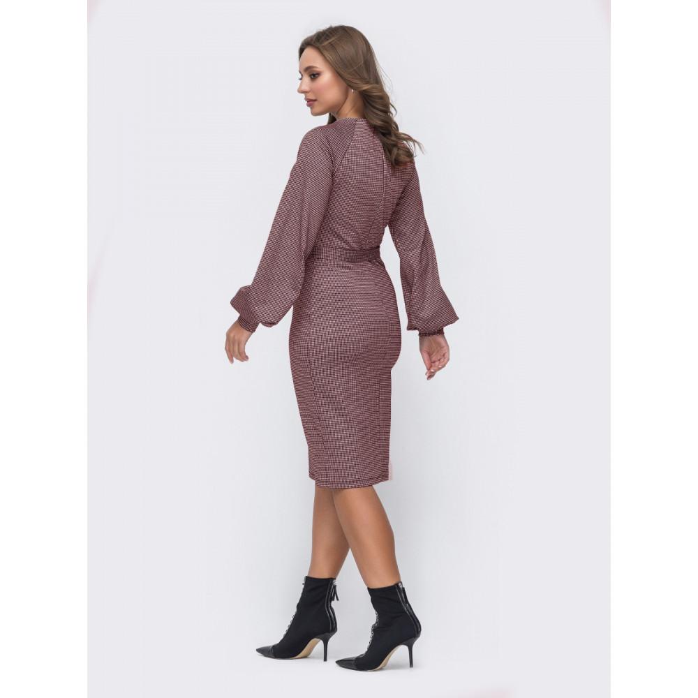 Женственное платье для офиса фото 3