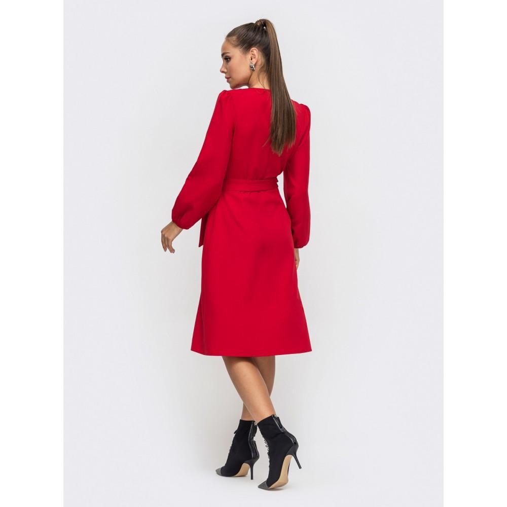 Женственное красное платье Лиора фото 2