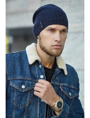 Практичная синяя шапка Реал