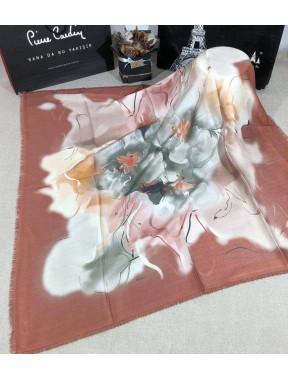 Теплый платок Bona с рисунком