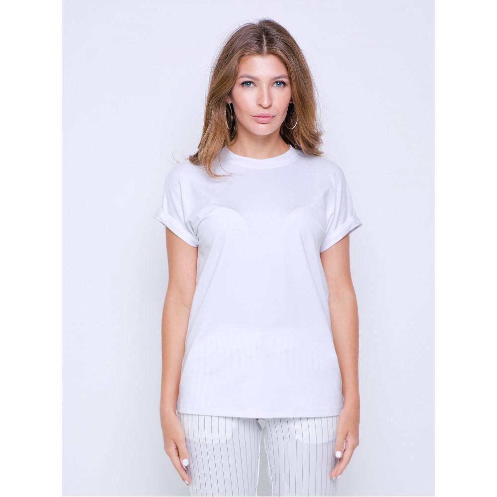 Белая футболка Дея фото 2