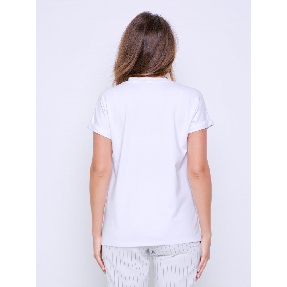 Белая футболка Дея фото 3