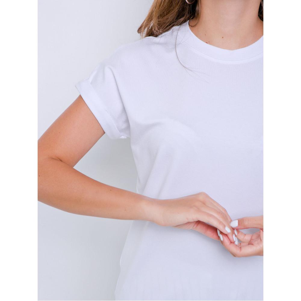 Белая футболка Дея фото 4