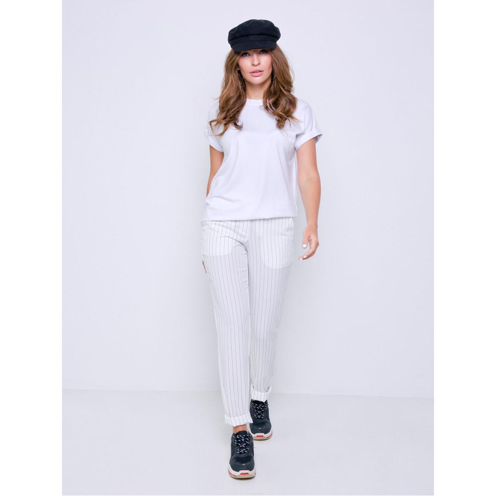 Белая футболка Дея фото 5