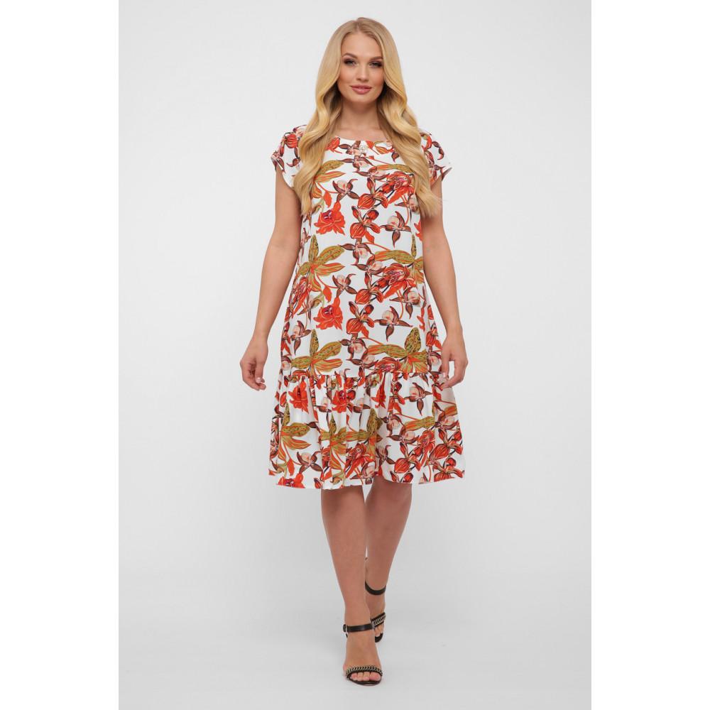 Летнее легкое платье с воланом Яна фото 5