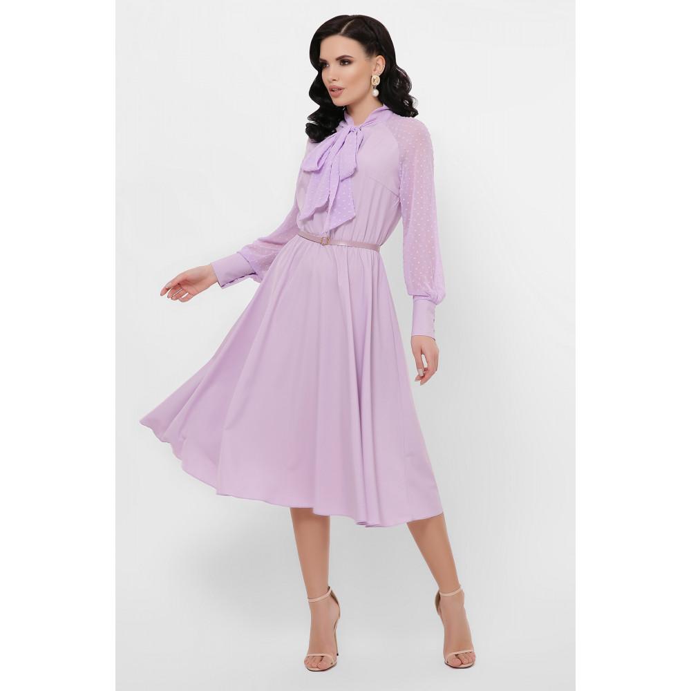 Лавандовое платье Аля  фото 1