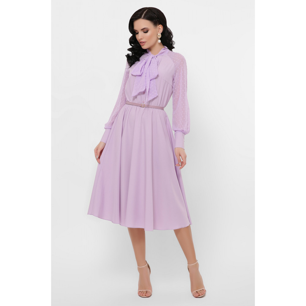Лавандовое платье Аля  фото 2