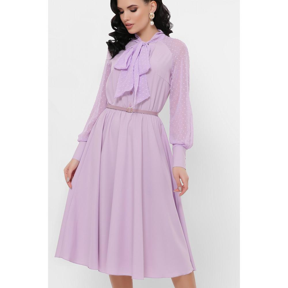 Лавандовое платье Аля  фото 3