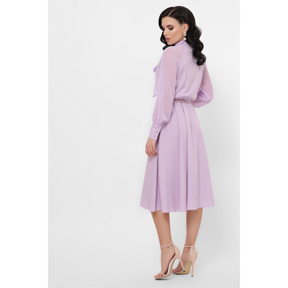 Лавандовое платье Аля  фото 4