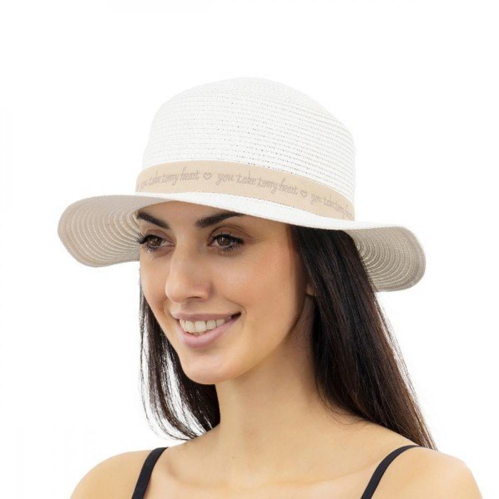 Белоснежная шляпка Марта фото 1