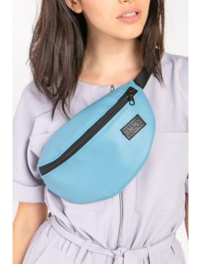 Блакитна сумка на пояс Ten