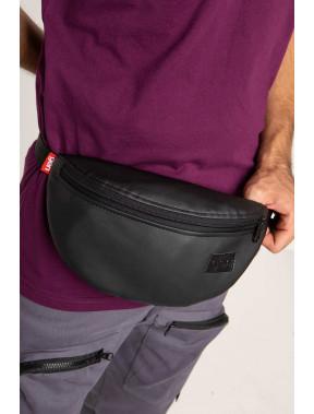Практична чорна сумка на пояс Ten