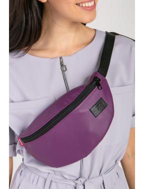 Фіолетова сумка на пояс Ten