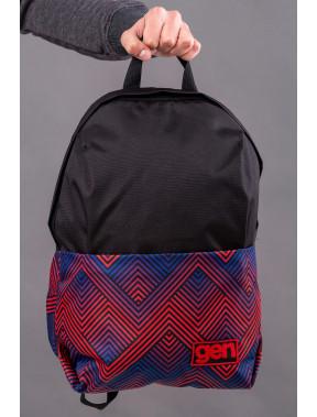 Чорний рюкзак з кишенею для ноутбуку Maks