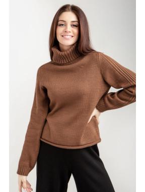 """Модний светр кольору """"кемел"""""""
