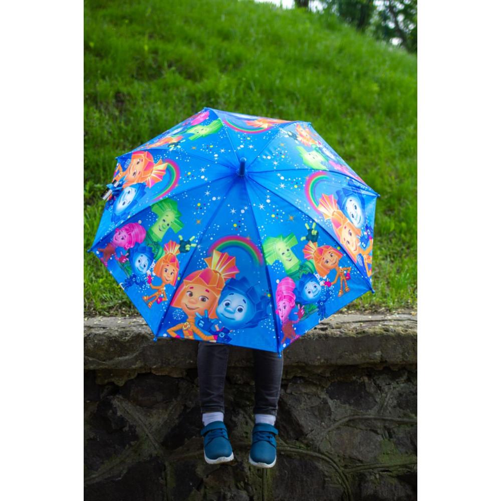Детский яркий зонтик Фиксики фото 1