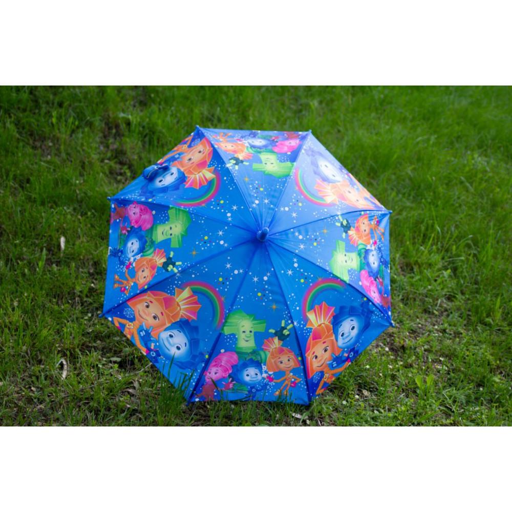 Детский яркий зонтик Фиксики фото 2